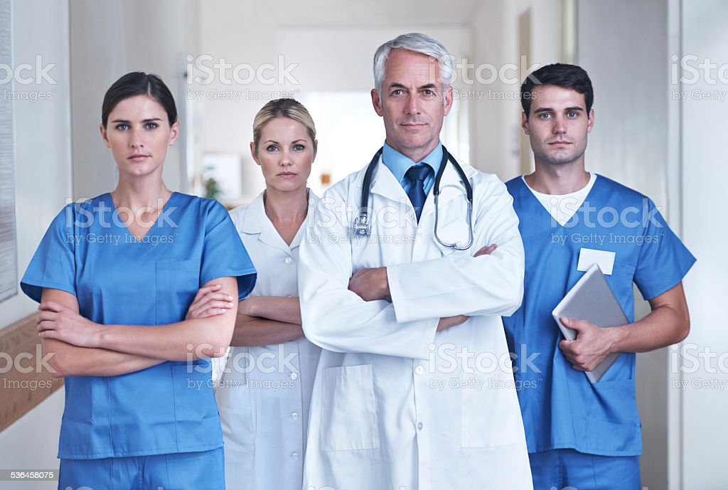 Every patient is important to them stock photo