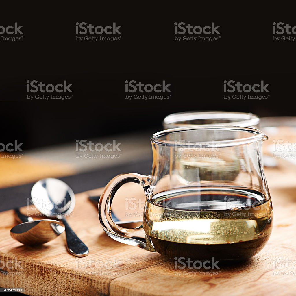 Every table needs the perfect vinaigrette stock photo