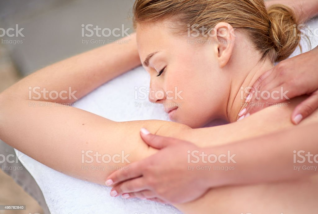 Every woman deserves to be pampered stock photo