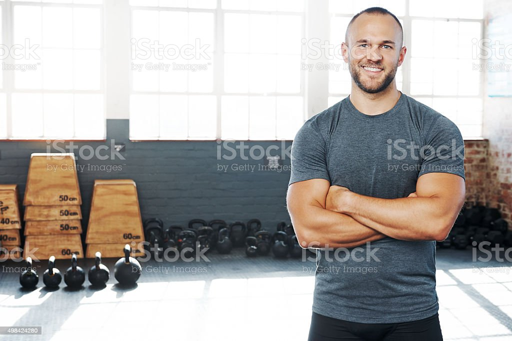 Every workout counts stock photo