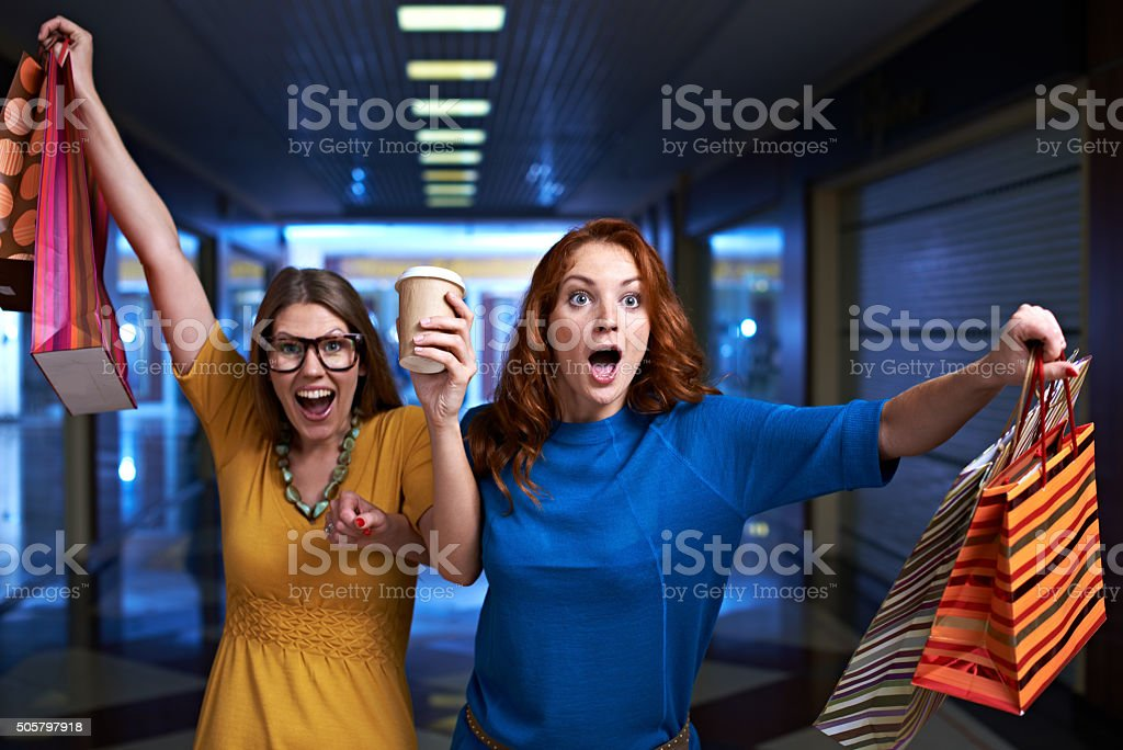 Everybody to the sale! stock photo