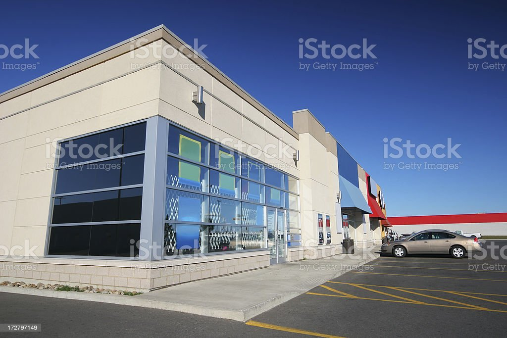Everyday Convenience Store stock photo