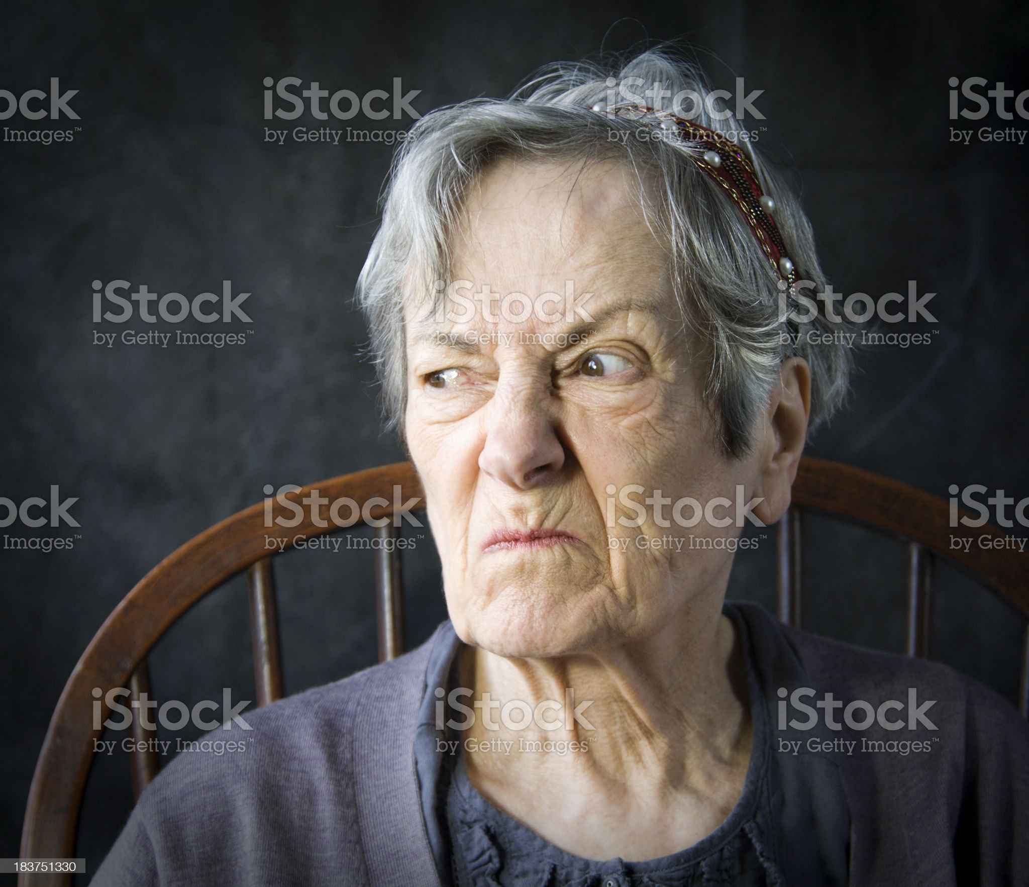 Everyday Expressions: Over My Dead Body! royalty-free stock photo