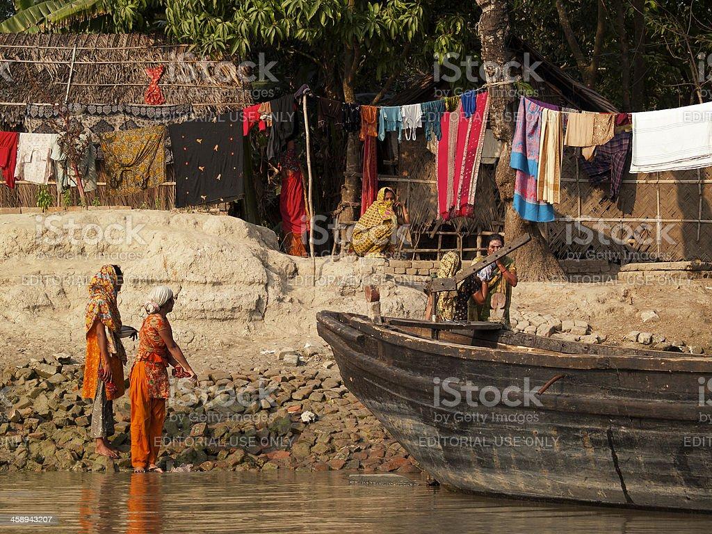 Everyday life in Bangladesh stock photo