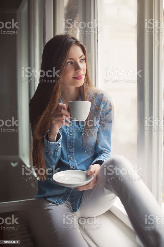 Everyday relaxing stock photo