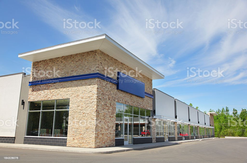 Everyday Store Building Exterior royalty-free stock photo