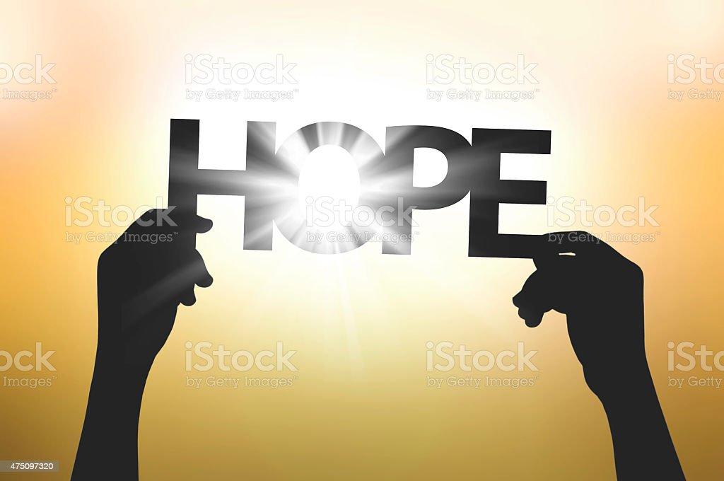 everyone has hope stock photo