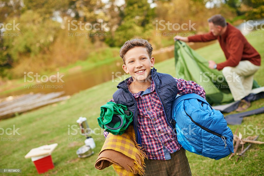 Everything but the kitchen sink! stock photo