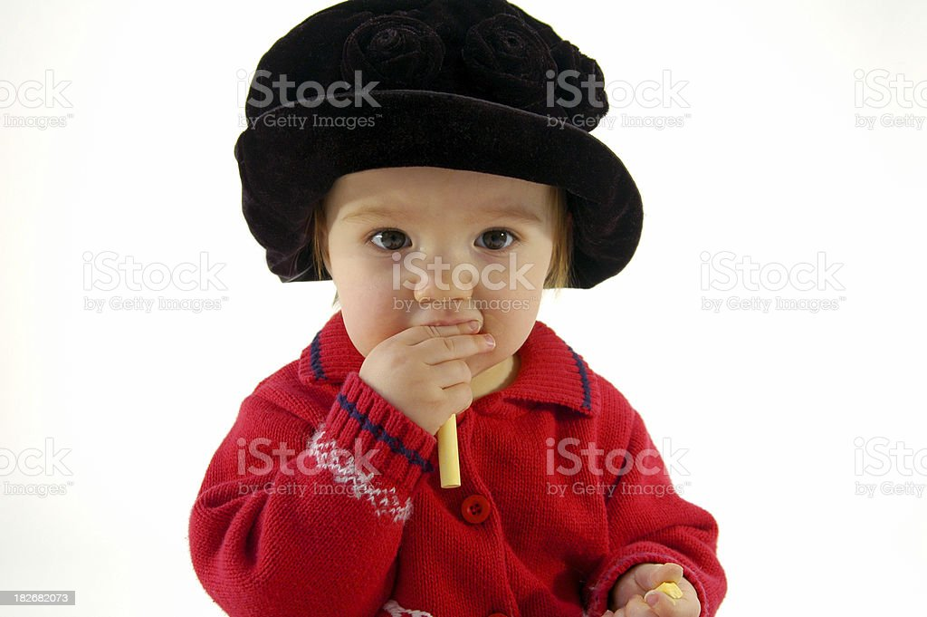 Everything In The Mouth royalty-free stock photo