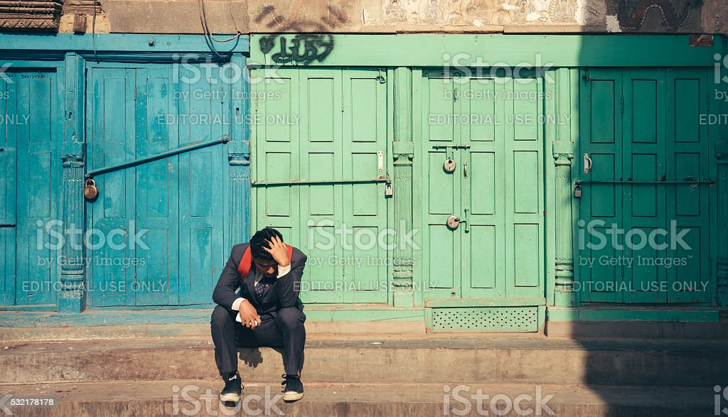 Everything is closed stock photo