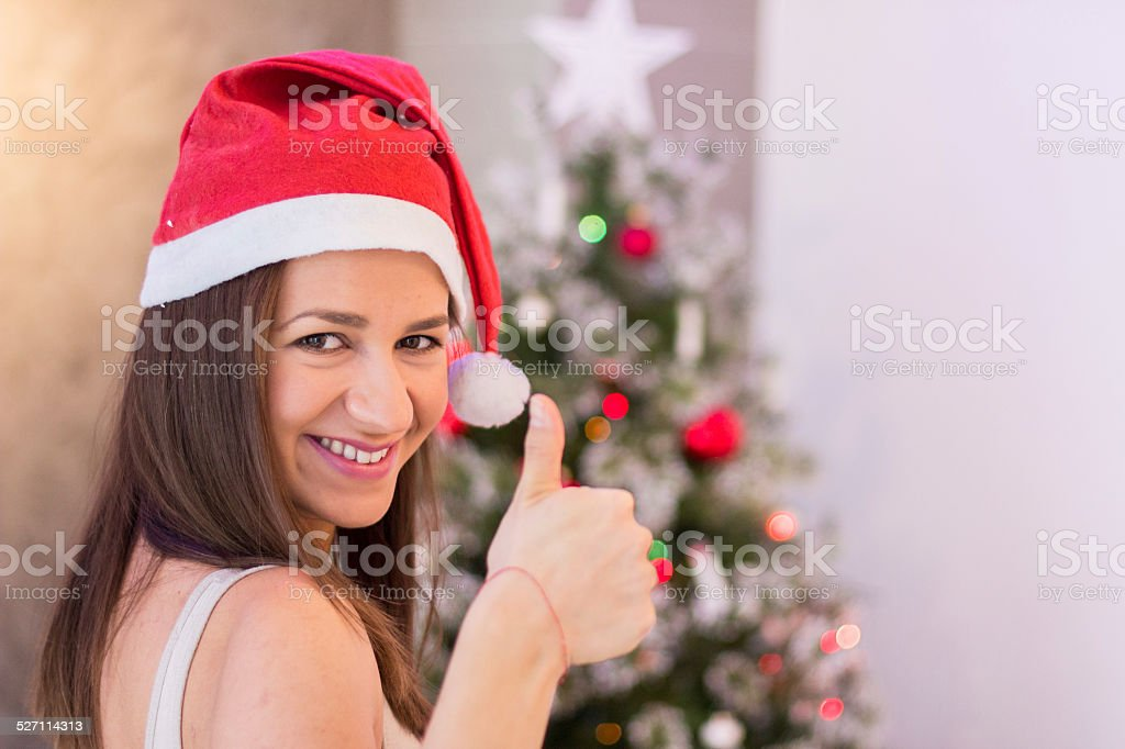 Everything is fine for Christmas stock photo