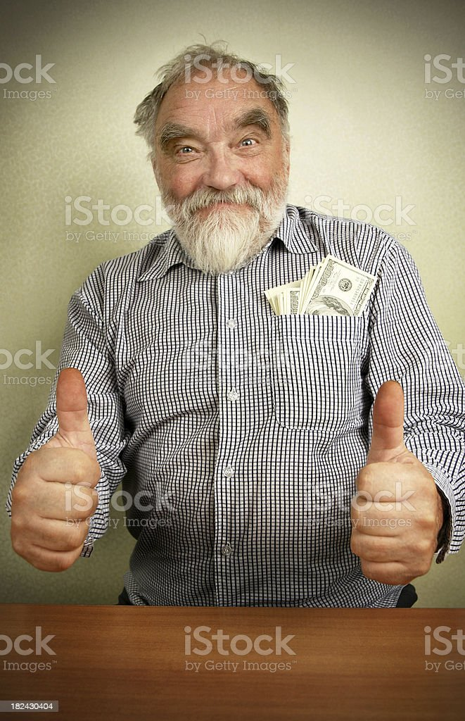 Everything is great! royalty-free stock photo
