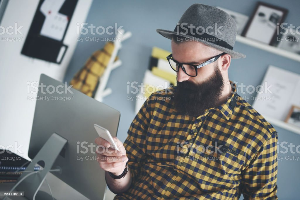 Everything is in the correct order stock photo