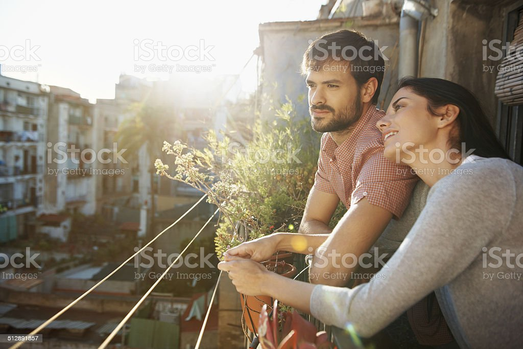 Everything is just perfect stock photo