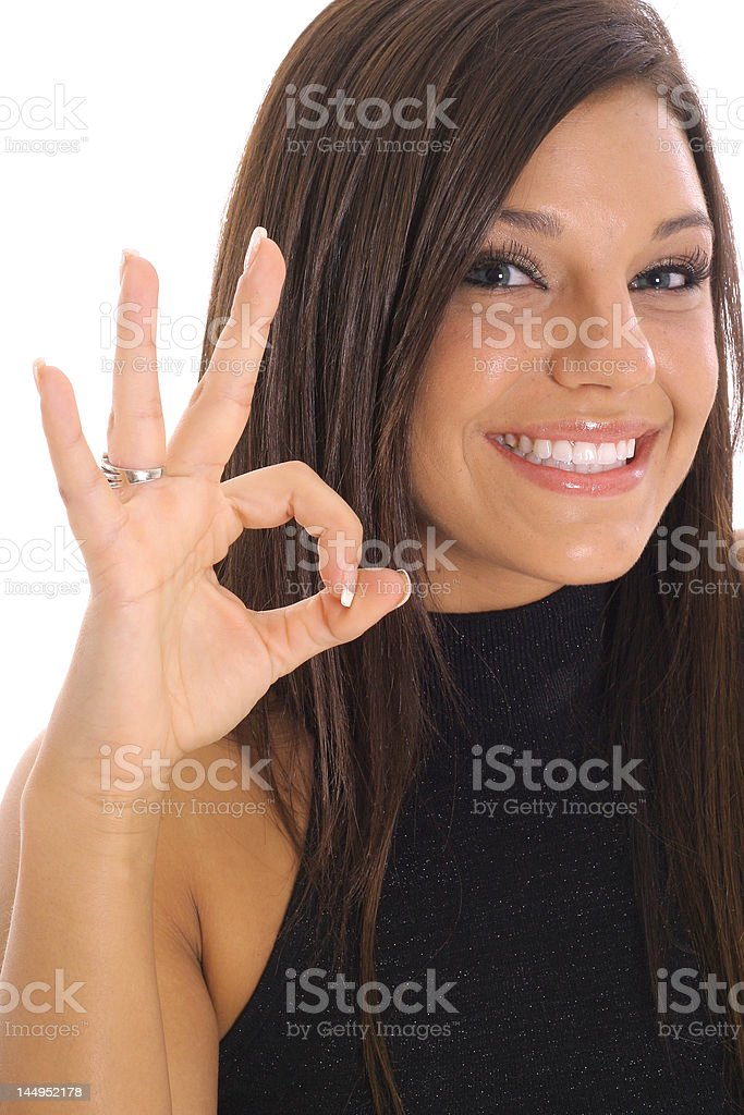 everything is ok royalty-free stock photo