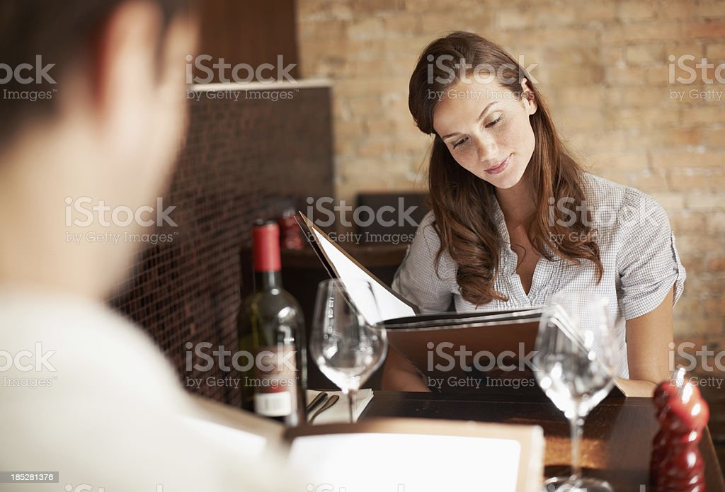 Everything looks so good stock photo