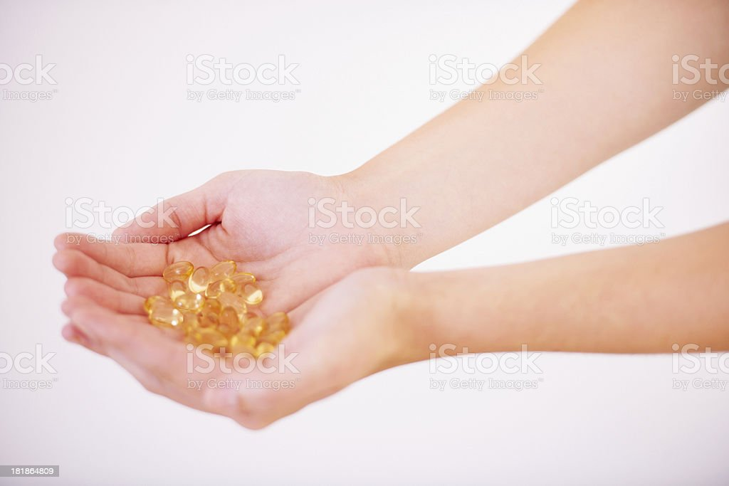 Everything the body needs... royalty-free stock photo