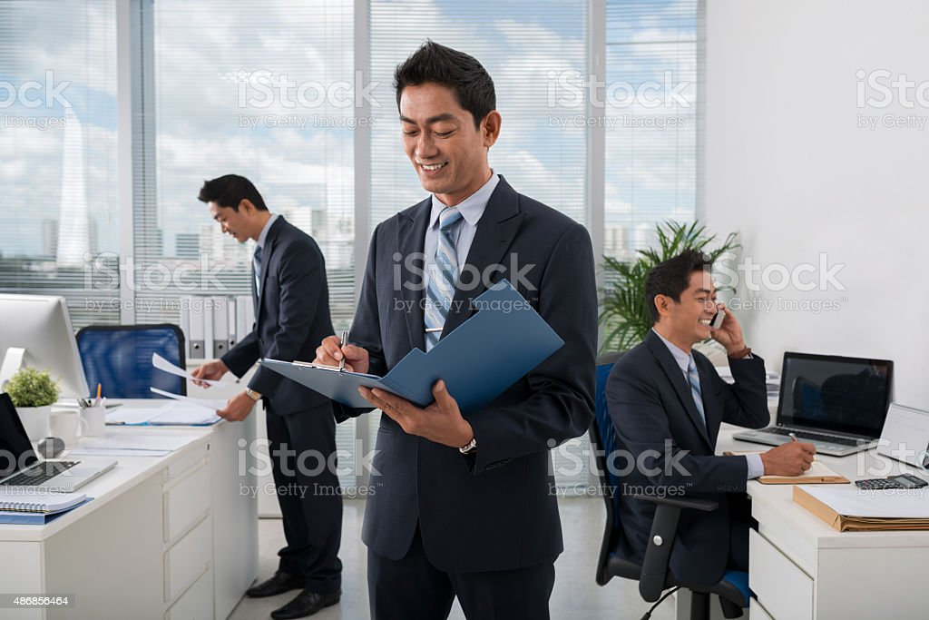 Everything under control stock photo