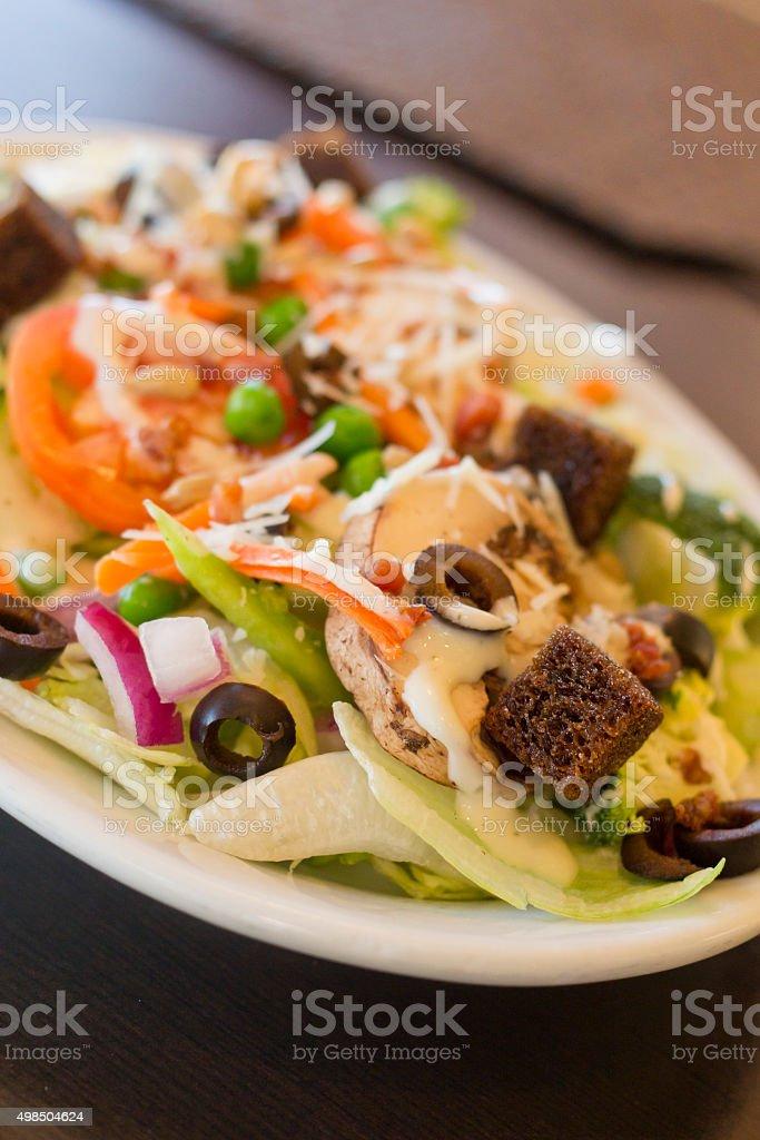Everything Vegetable Salad stock photo