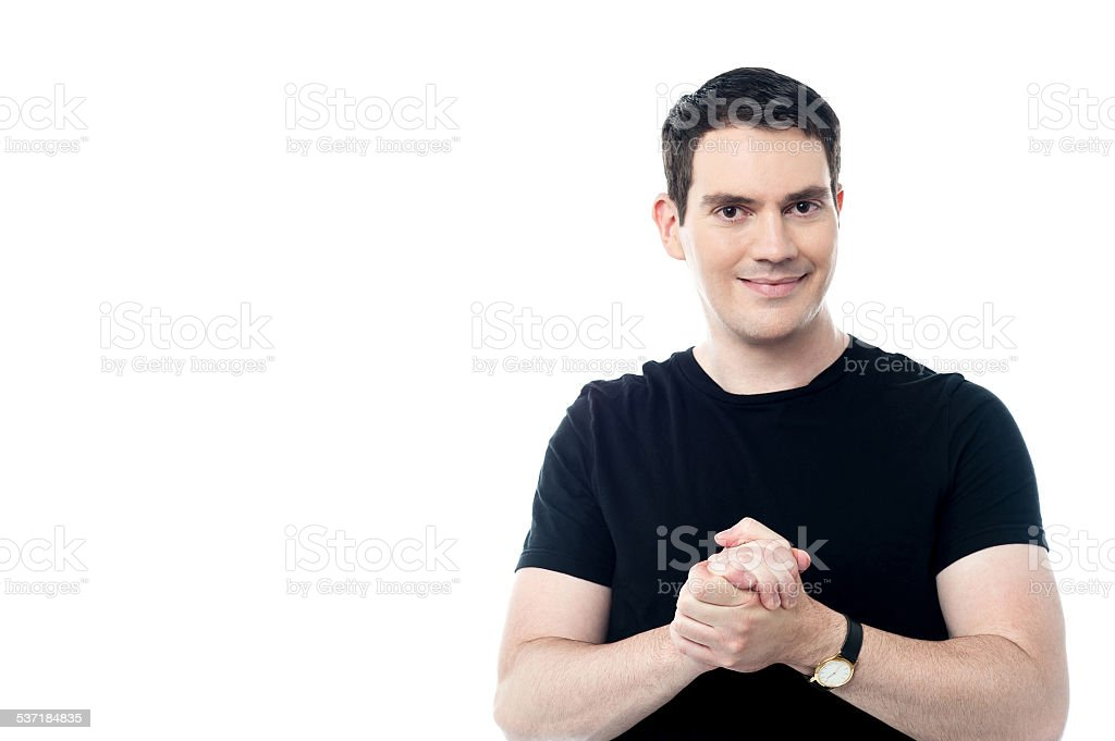 Everything will be fine. stock photo