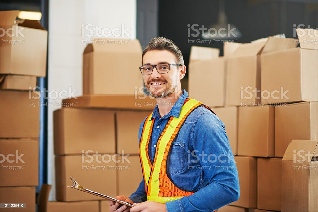 Everything's under control stock photo