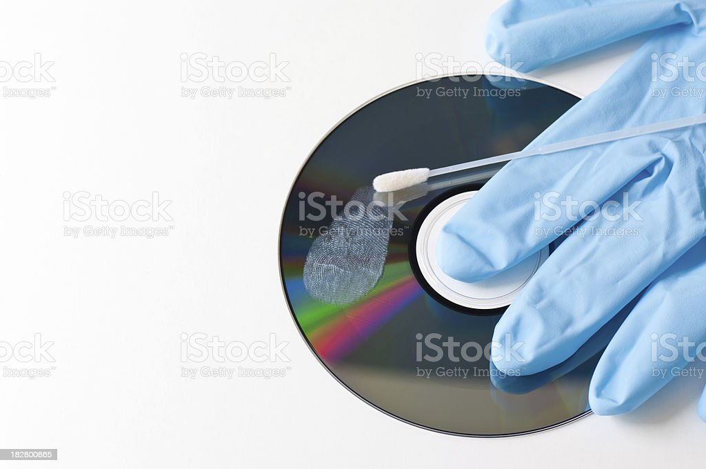 Evidence of computer crime royalty-free stock photo