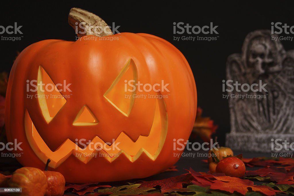 Evil and rip royalty-free stock photo