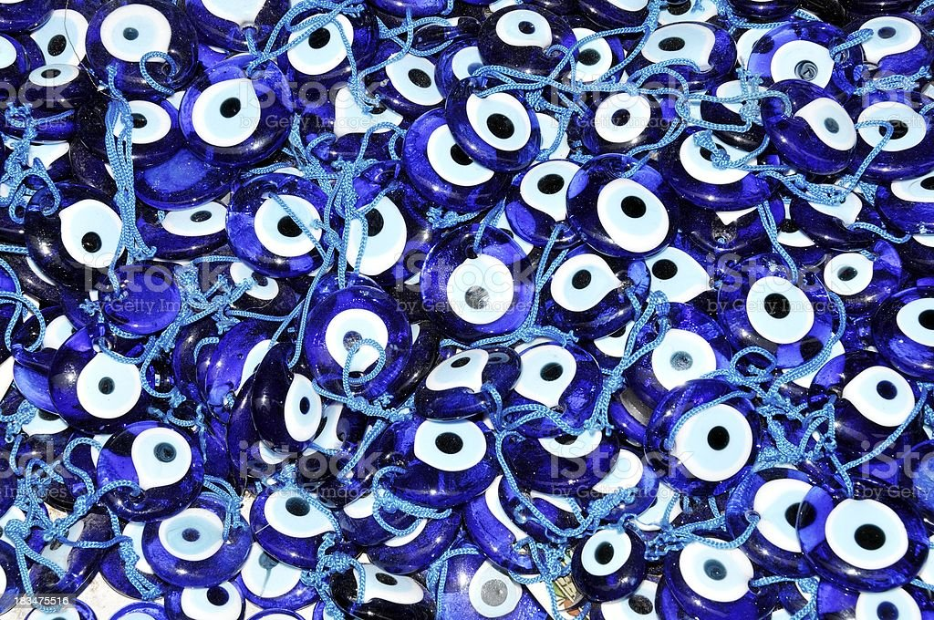 Evil Eye Amulets royalty-free stock photo