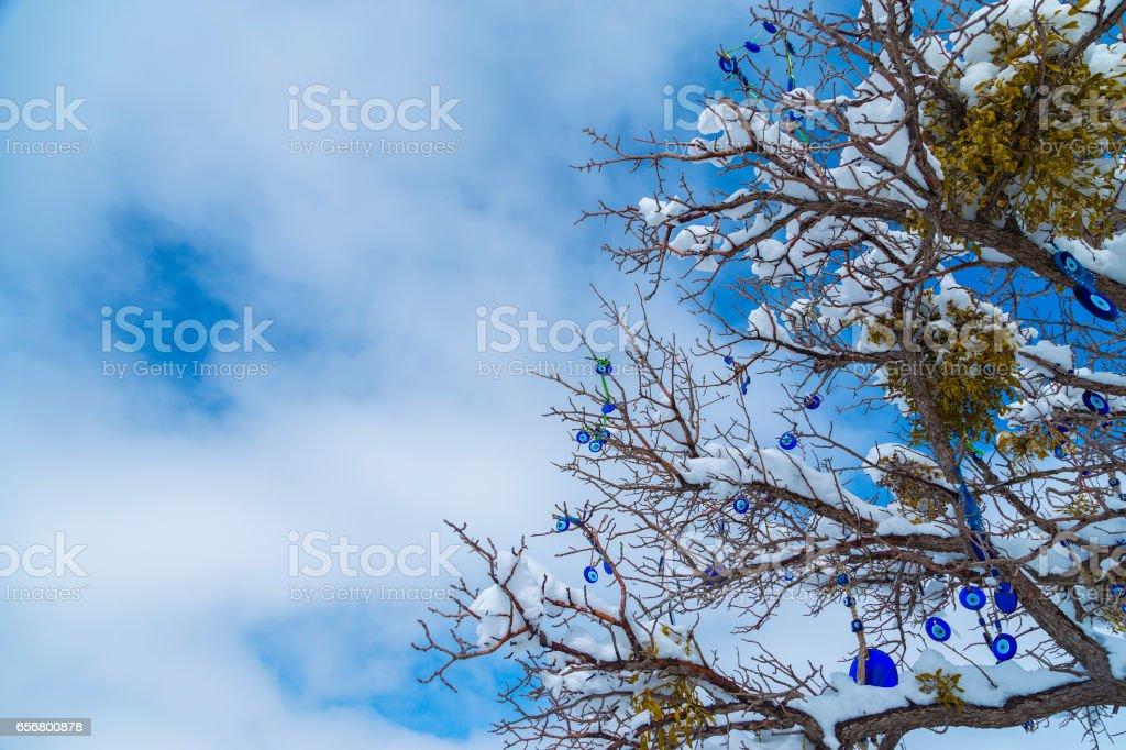 Evil Eye Bead, Sky stock photo
