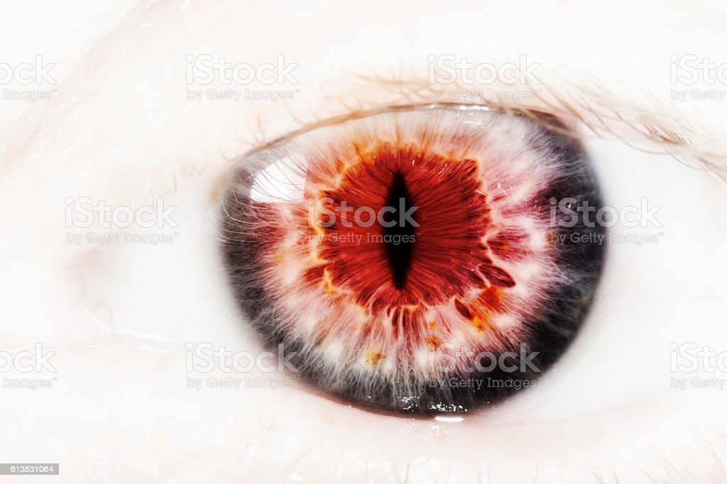 Evil eye stock photo