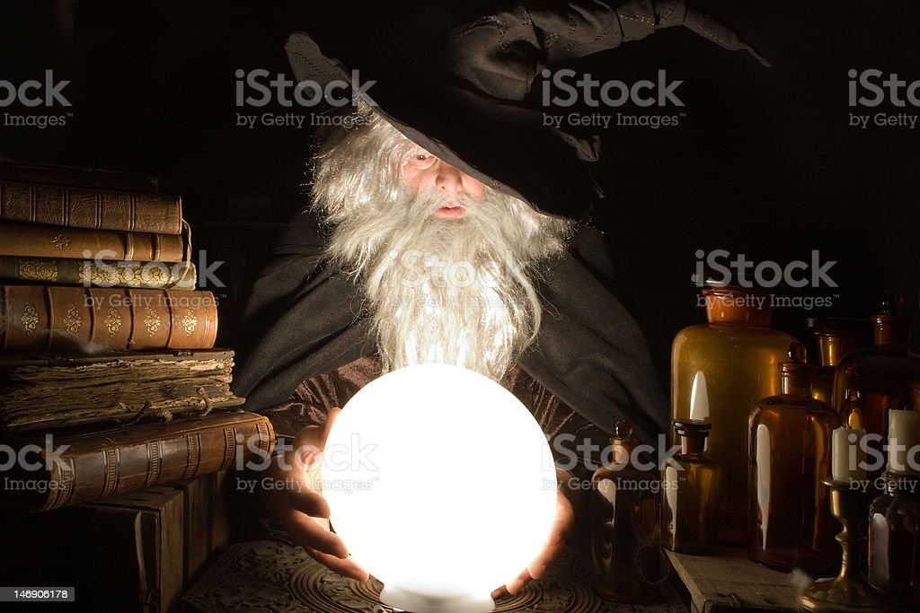 Evil future stock photo