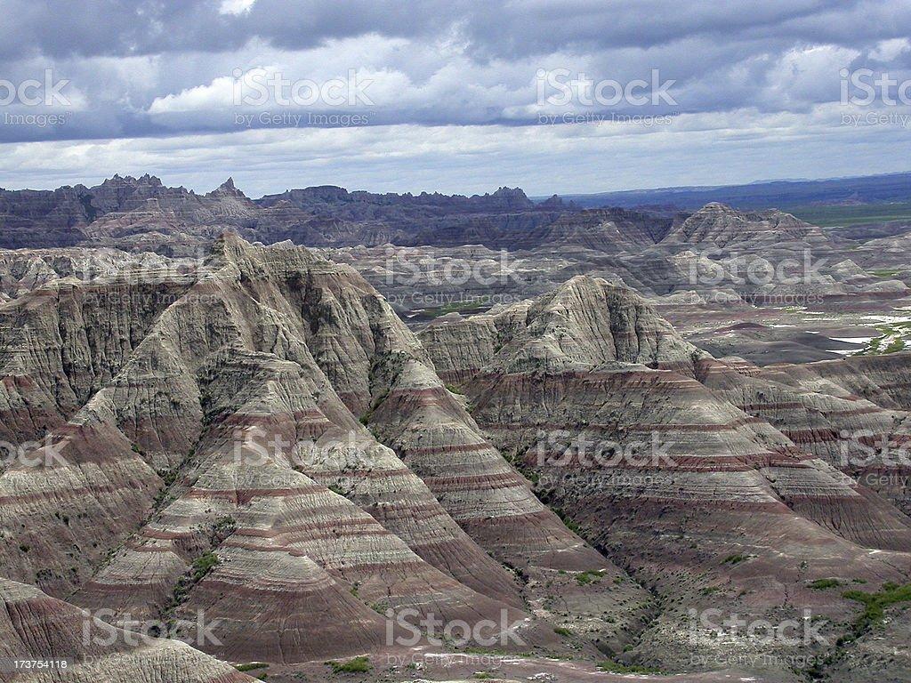 Evil, I Mean Bad Lands stock photo