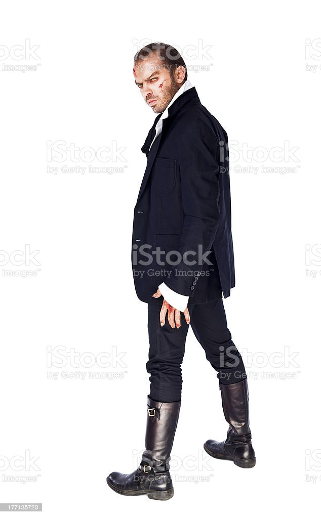 evil male royalty-free stock photo