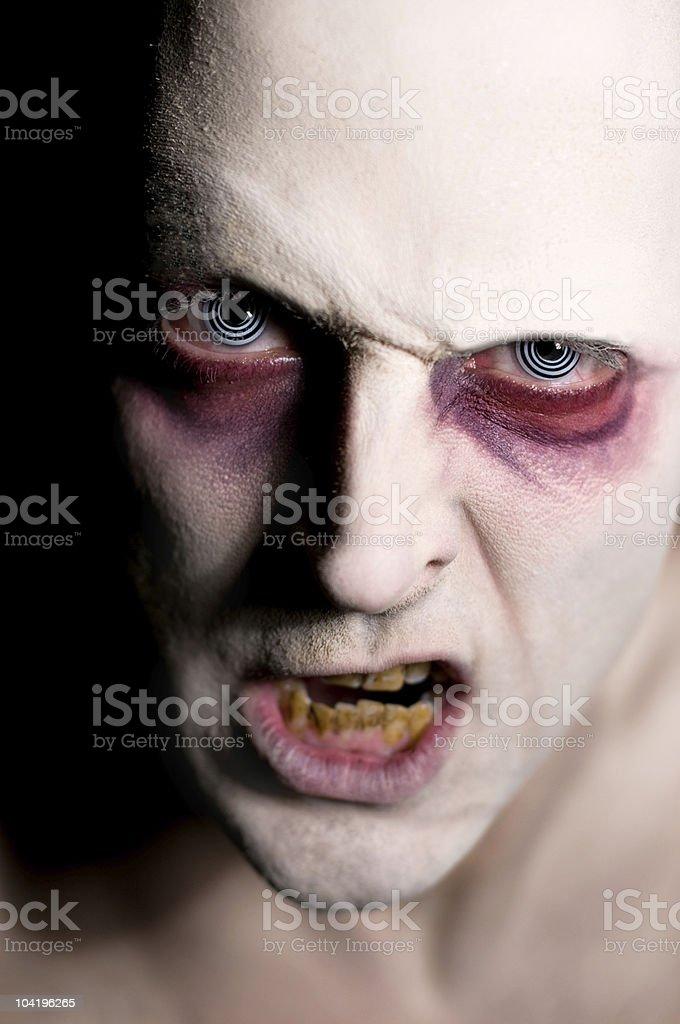 Evil Monster royalty-free stock photo