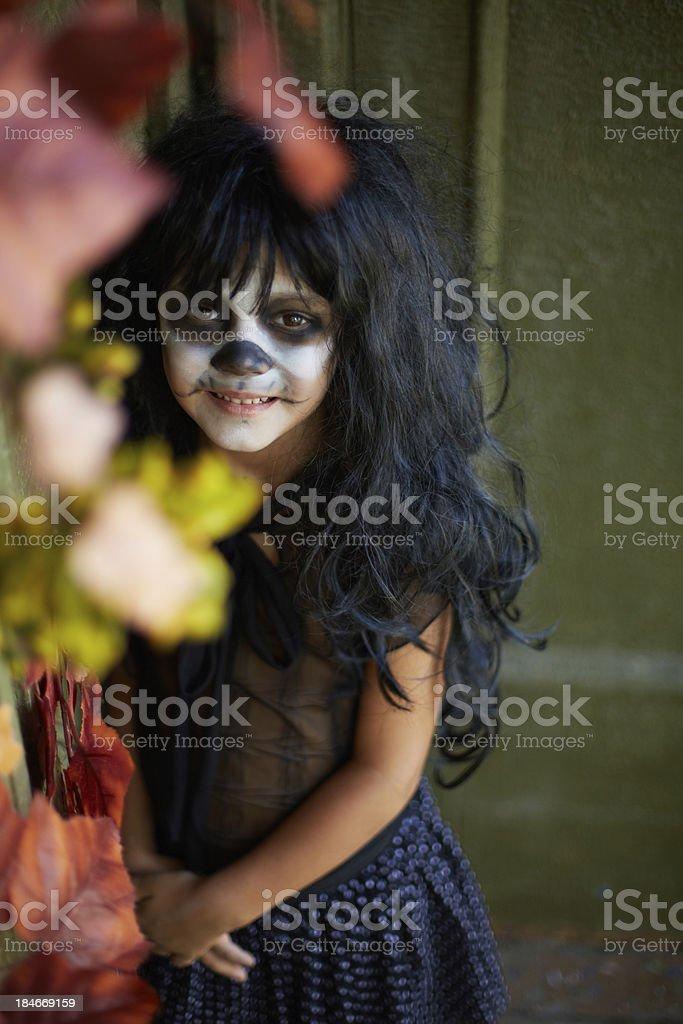 Evil tradition royalty-free stock photo