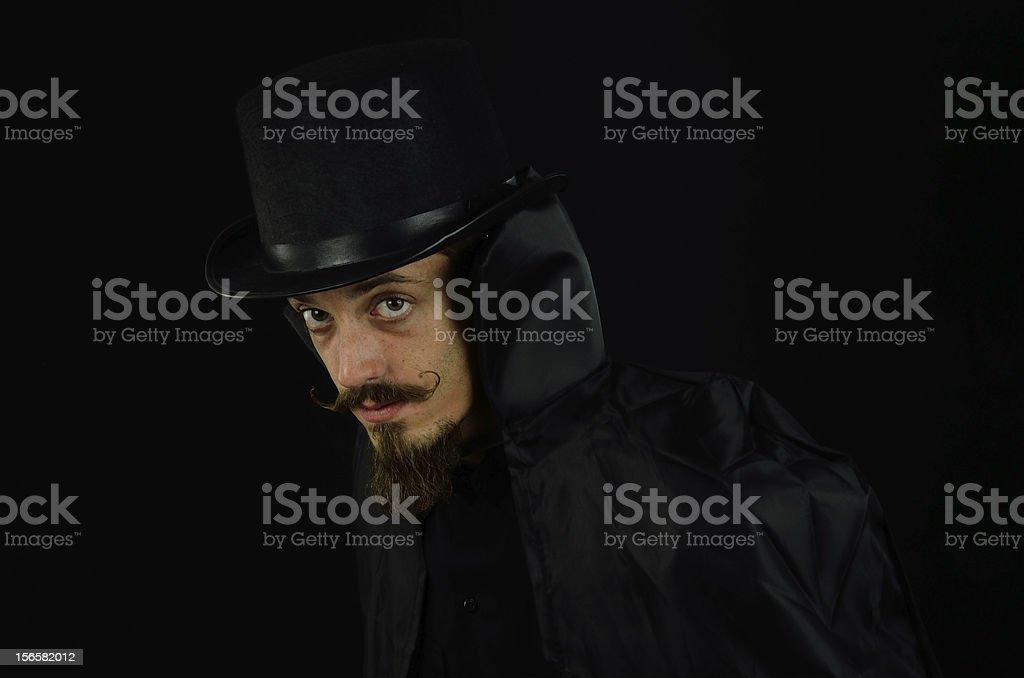 Evil Villain royalty-free stock photo