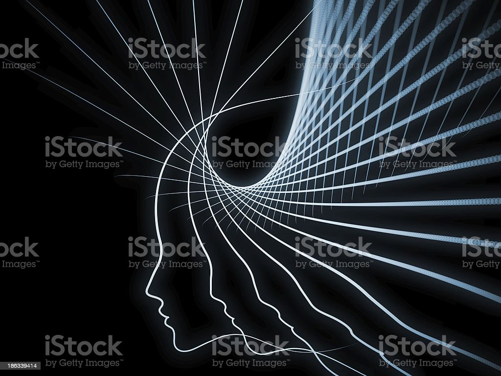 Evolving Soul Geometry royalty-free stock photo