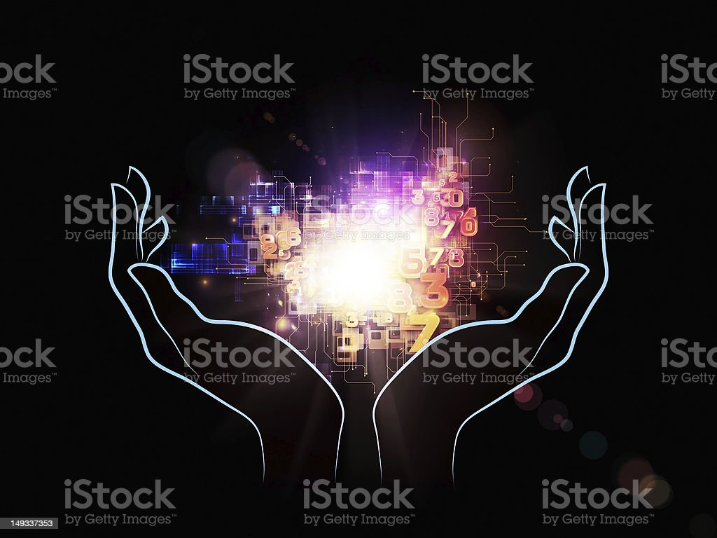 Evolving Technology royalty-free stock photo
