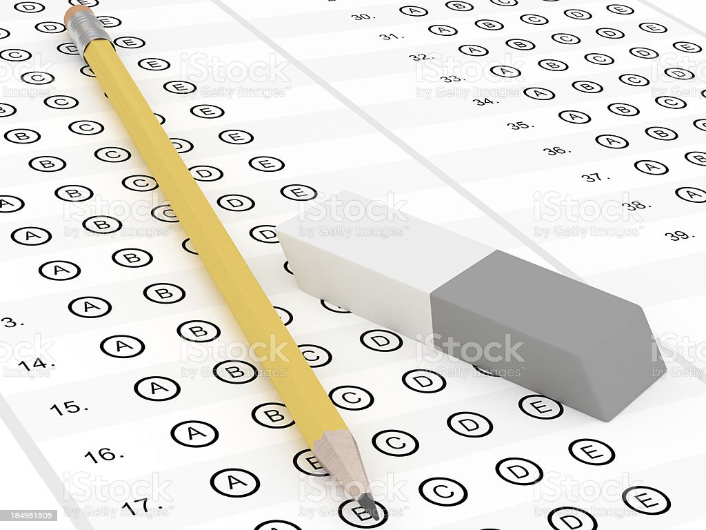 Exam royalty-free stock photo