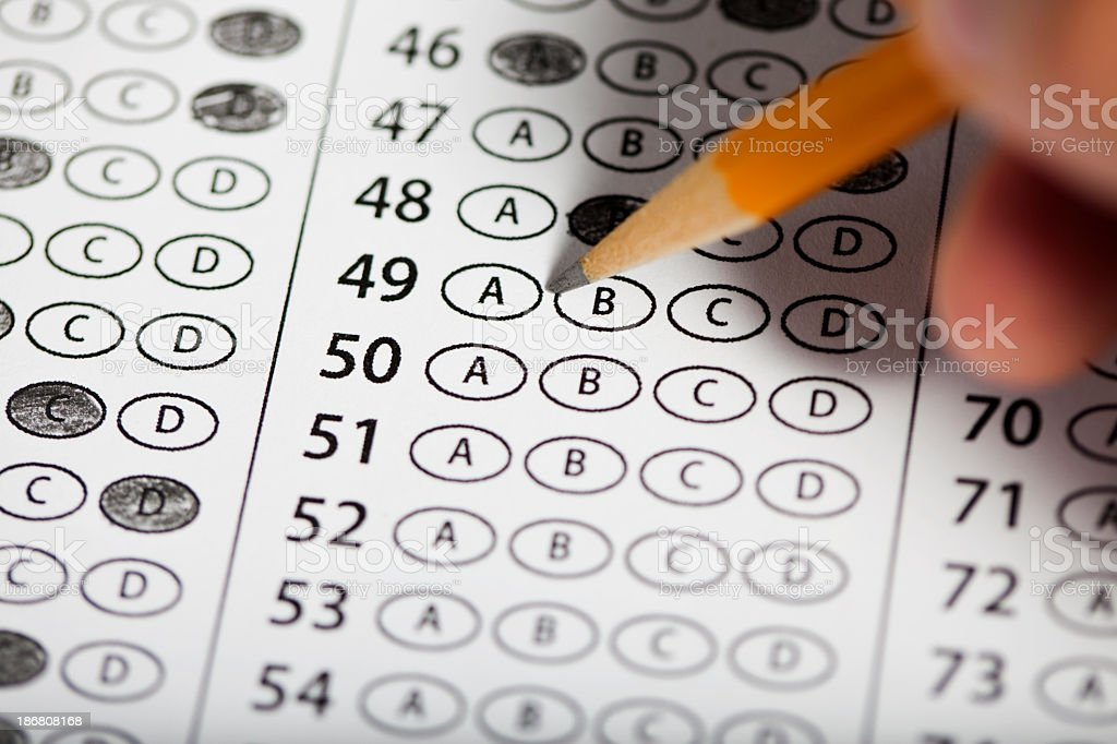 Exam stock photo