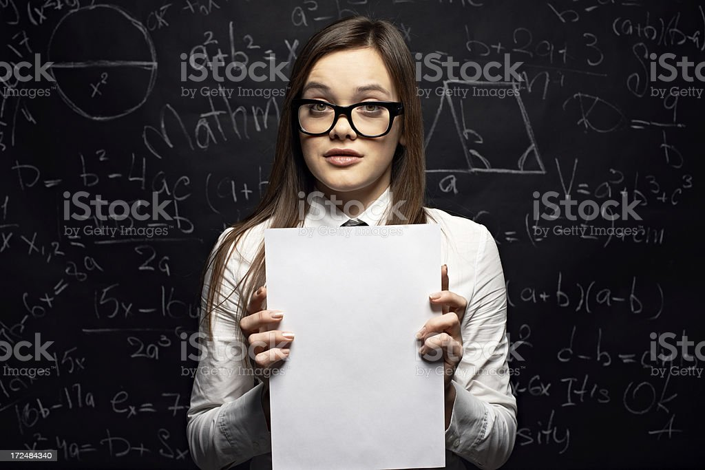Exam results royalty-free stock photo