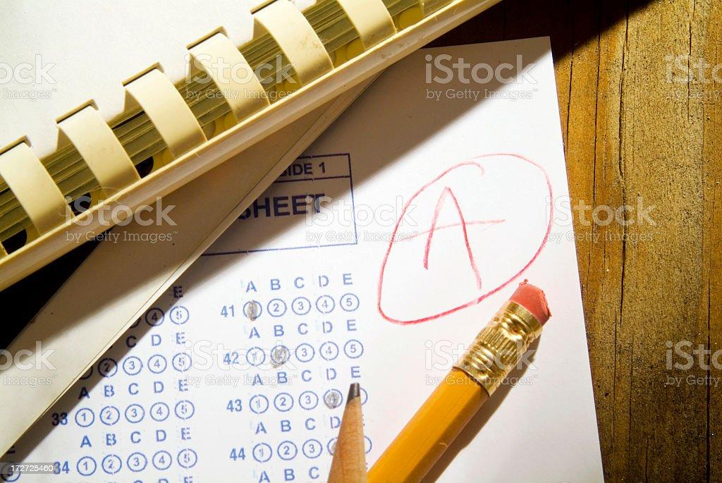 Exam Series stock photo