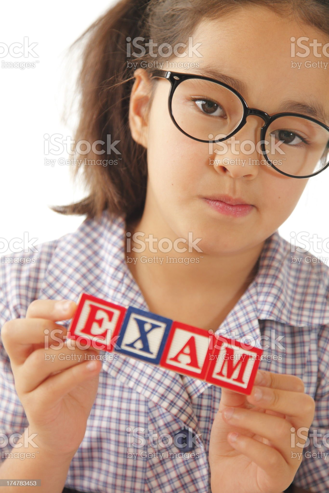 Exam Time royalty-free stock photo