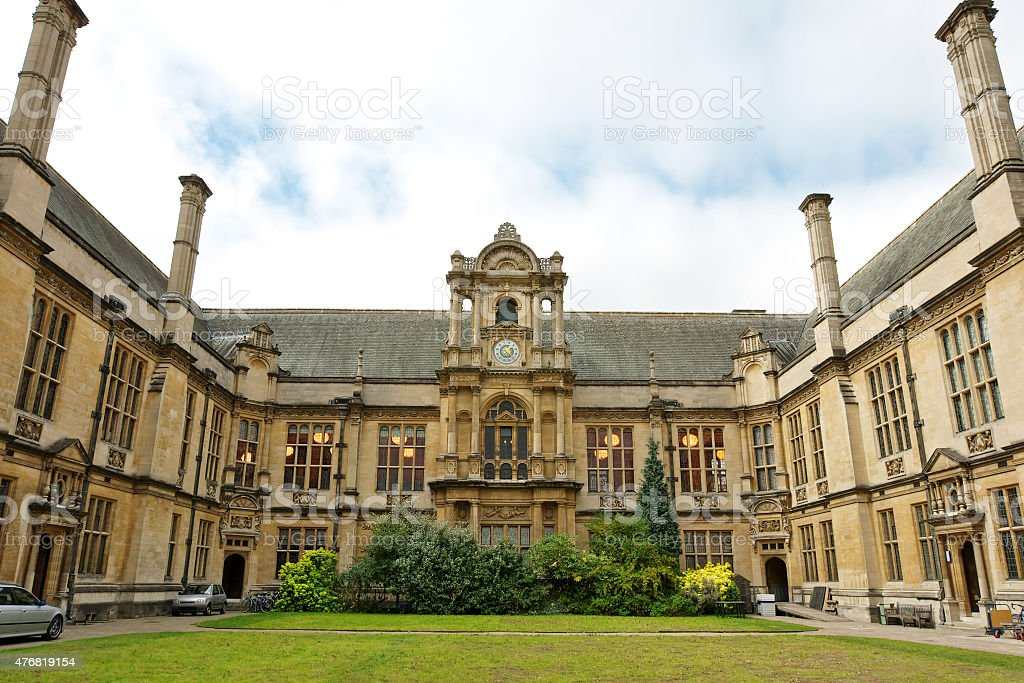 Examination Schools. Oxford, England stock photo