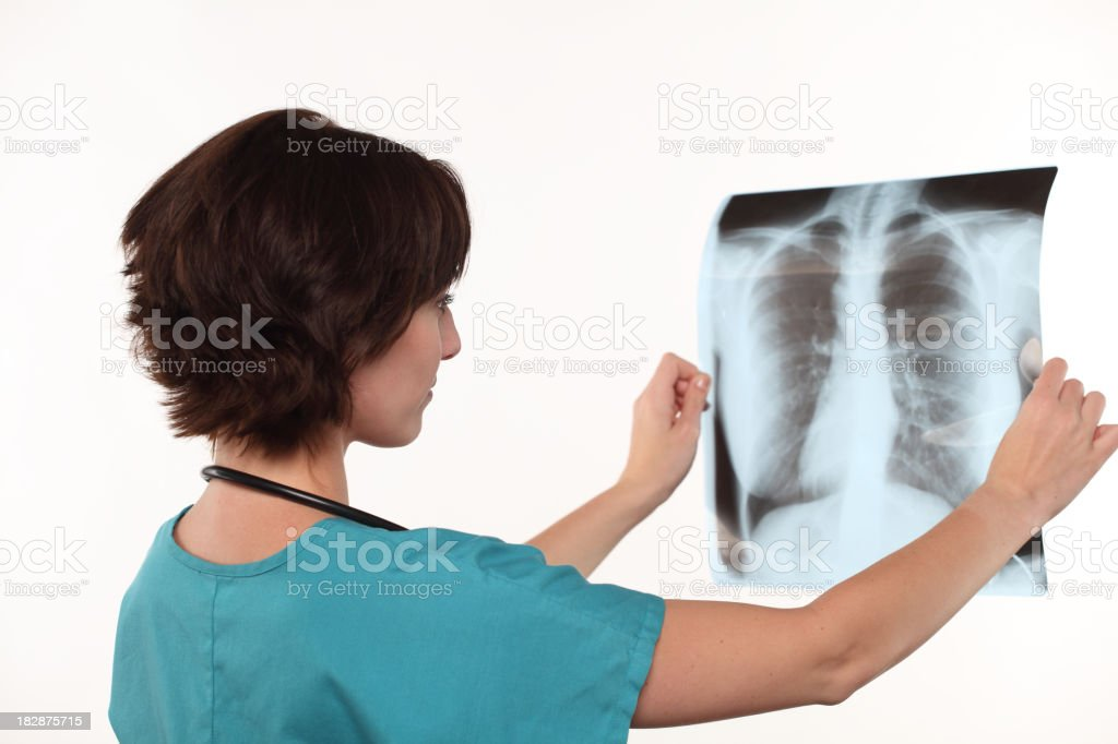 Examination - X-Ray royalty-free stock photo