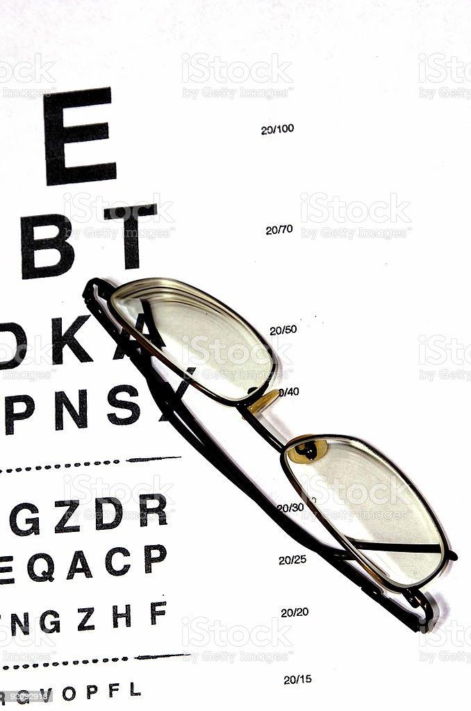 examine eyes royalty-free stock photo