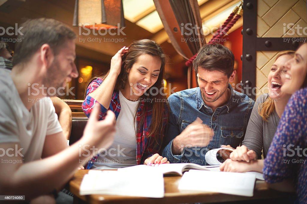 Exams are not as difficult as we thought stock photo