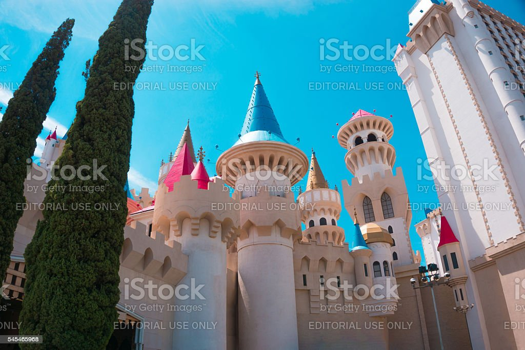Las Vegas, USA - May 04, 2016: Excalibur Hotel and stock photo
