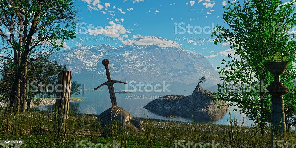 excalibur stock photo