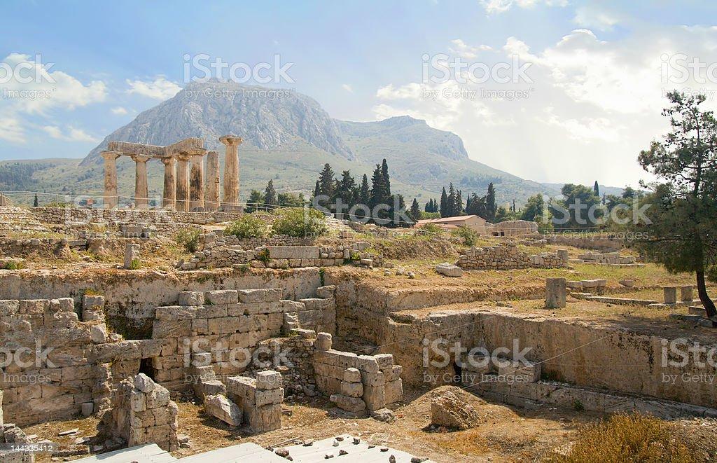 Excavating Ancient Greece stock photo